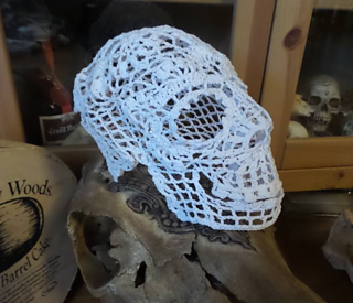 Ravelry  3D crochet doily skull pattern by Ann Wanamaker f077f411801