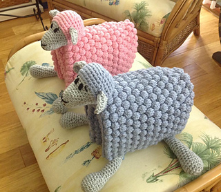 Ravelry Cuddle And Play Sheep Blanket Pattern By Aneta
