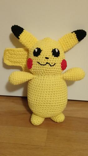 Ravelry Bigger Pikachu Pokemon Pattern By Nicholes Nerdy Knots