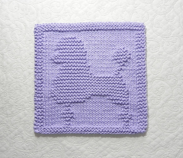 Ravelry Poodle Dog Knit Dishcloth Pattern By Aunt Susan