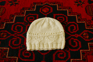 31c7c2e55 Ravelry  Hearts and Bows Baby Hat pattern by Chez Design