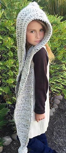 Hooded Scarf Chloe Hood Pattern By Ava Girl Designs Ravelry