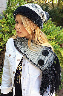 Ravelry  Hat Neckwarmer Set - Brilyn Set pattern by Ava Girl Designs 4f3c98367761