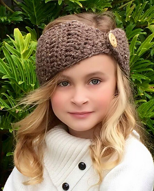 Ravelry  The Ava Head Warmer pattern by Ava Girl Designs 09b33813ecf4