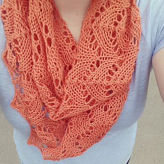Ravelry Lacey Arches Infinity Scarf Pattern By Tina Keenan