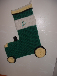 Ravelry  John Deere Tractor Stocking pattern by Daphine Tolliver 247d07ebb05