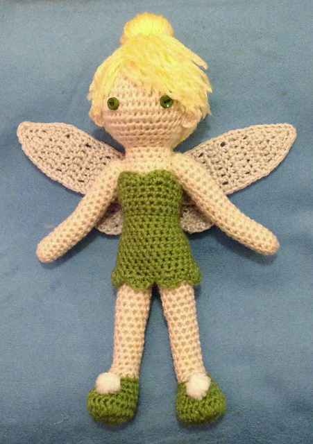 Ravelry Tinkerbell Doll Pattern By Becky Ann Smith