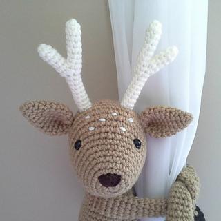 Ravelry Deer Curtain Tieback Amigurumi Pattern By