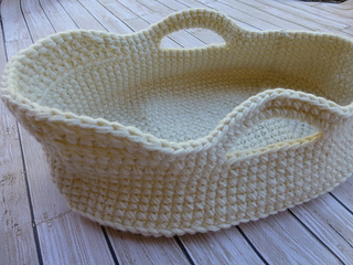 Ravelry Doll Moses Basket Pattern By Baby Dear