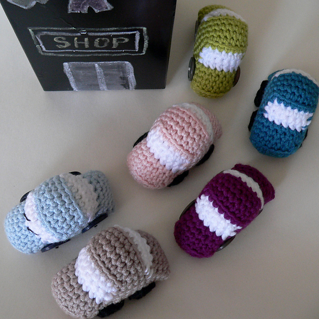 Ravelry Tiny Cars Pattern By Dedri Uys