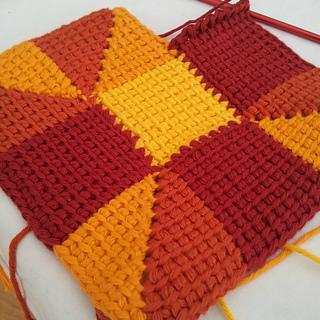 Ravelry Tunisian Crochet Ten Stitch Blanket Pattern By Dedri Uys
