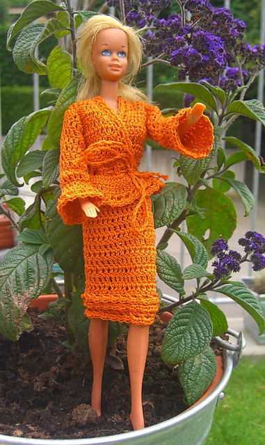 Ravelry  Sweet in Pink Fashion Doll Ensemble pattern by Anna Ness 657b5ae1c