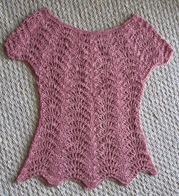 Ravelry Feather And Fan Top Pattern By Rebecca Averill