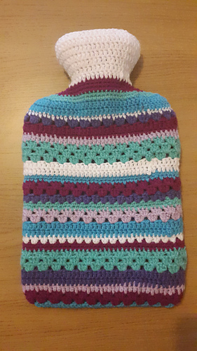 Ravelry Crochet Hot Water Bottle Cover By Beccajayne100 Pattern By
