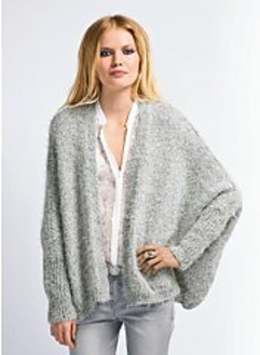 Ravelry 661 draped jacket pattern by berg re de france for Bergere de france miroir