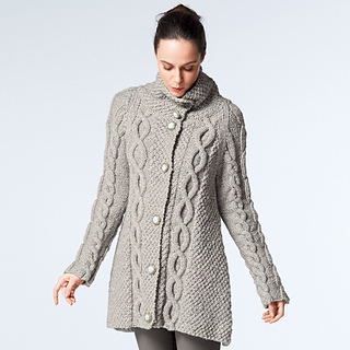 42d89ac71c78 Ravelry  982 Trapeze-Shaped Jacket pattern by Bergère de France