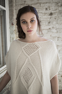Quoin pattern by Norah Gaughan
