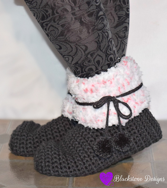 Indie Design Gift Along 2018 Slipper Bootie Favourites 29