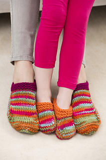 d5741849c Ravelry: Mom and Me Slippers pattern by Christine Marie Chen