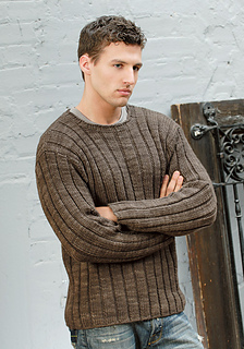 Ravelry: Men's Ribbed Sweater pattern by Bobbi Intveld