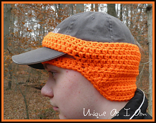 Ravelry  Baseball Cap Ear Warmer pattern by Susan Preston a6efeafe69c