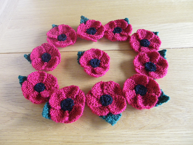 Craft Passions Knit A Small Poppyfree Knitting Pattern Link Here