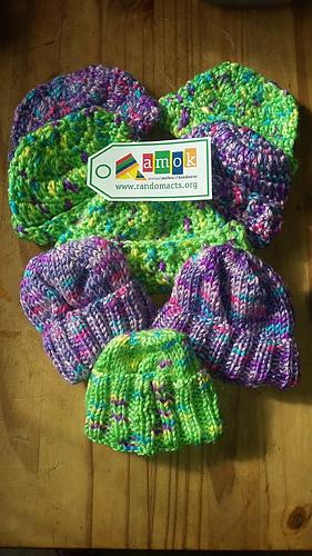Ravelry Preemie Hat Newborn Cap Knit Pattern By Red Heart
