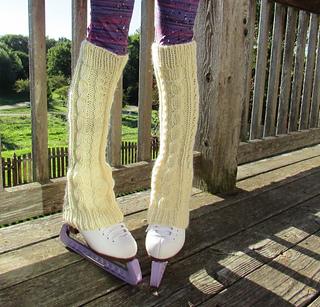 9363ee696 Ravelry  Winter Leg Warmers pattern by Bonnie Nurnberger