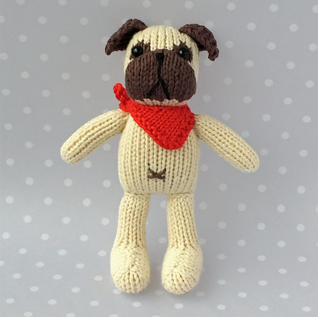 Ravelry: Petra\'s Pug pattern by Louise Crowther