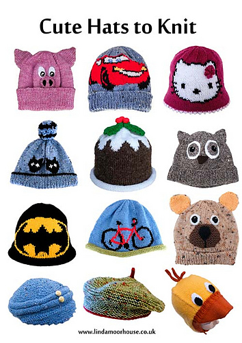 Ravelry Cute Hats To Knit For Children Patterns