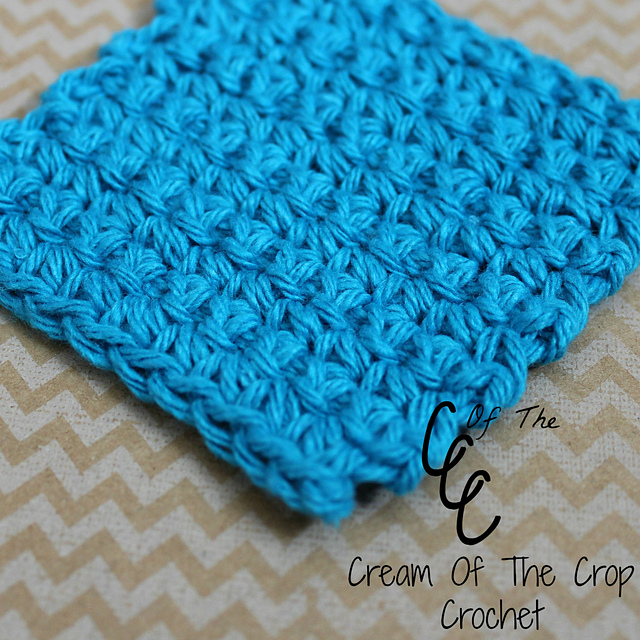 Ravelry Single Crochet Square Face Scrubbie Pattern By Cream Of The