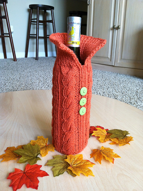 Ravelry Wine Bottle Sweater Pattern By Brittany Coughlin