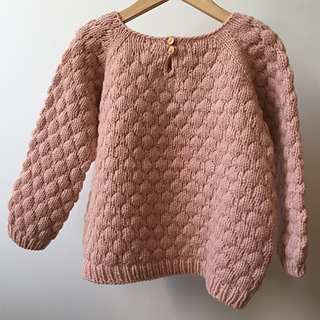 698df1e43b04 Ravelry  Bubblewrap Jumper pattern by Brought Up By Wolves