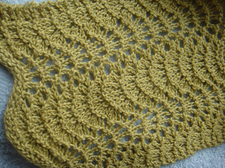 Ravelry feather fan dishcloth pattern by linda smith bswanie dt1010fo