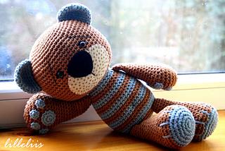 Amigurumi Teddy Bears : Ravelry tummy teddy pattern by mari liis lille