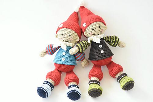 Amigurumi Christmas : Ravelry jester the christmas gnome pattern by mari liis lille