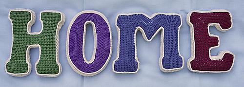 Ravelry large 3 d letter pattern by carocreated design altavistaventures Images