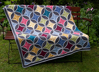 Ravelry Cathedral Window Blanket Pattern By Carocreated