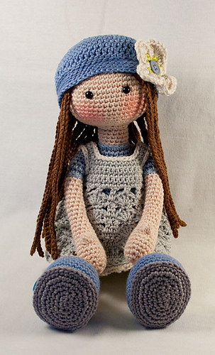 Ravelry Doll Lilly Pattern By Carocreated Design