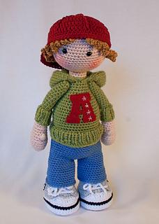 Ravelry Doll Josh Pattern By Carocreated Design