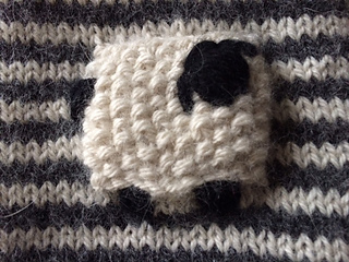 Sheep Knitting Pattern Free Download : Ravelry: Valais Blacknose Sheep Mittens pattern by Rachel ...