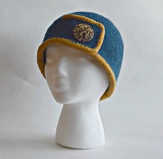 Button and Cord Felted Hat. by Cindy Pilon. Published in. Cindy Pilon s  Ravelry Store 426c4eaa804e