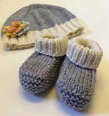 668031000ef Ravelry: Newborn booties pattern by Priscillia Uloho