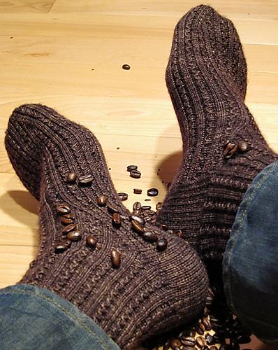 Ravelry: Java Socks pattern by Cailyn Meyer