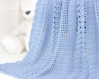 eaba31b12bf57 Elise Baby Blanket #146 pattern by Kyoko - Cali Chic