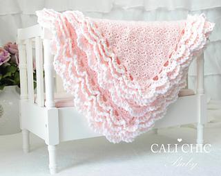 e1be67aa45eb4 Iris Baby Blanket #100 pattern by Kyoko - Cali Chic
