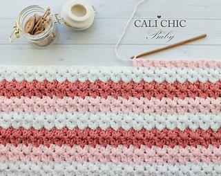 d96ec32e7f83b Ravelry: Laguna Baby Blanket #159 pattern by Kyoko - Cali Chic