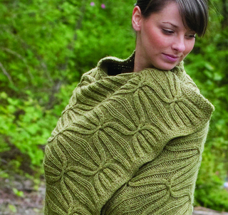 Quilt and Cable Blanket pattern by Cambria Washington: Knitware & Patterns