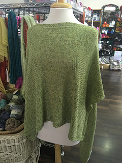 Ravelry East Village Poncho Pattern By Kris Gregson