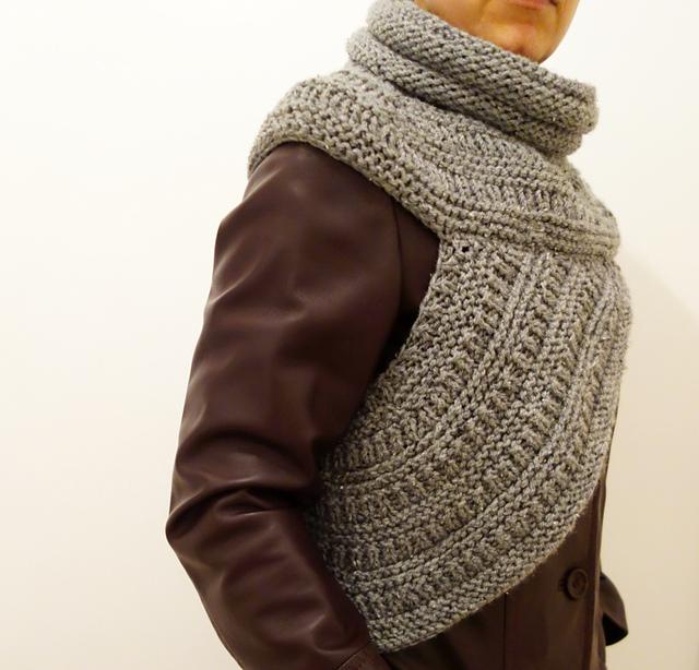 Ravelry Easy Knit Katniss Wrap Pattern By Camelia Mit